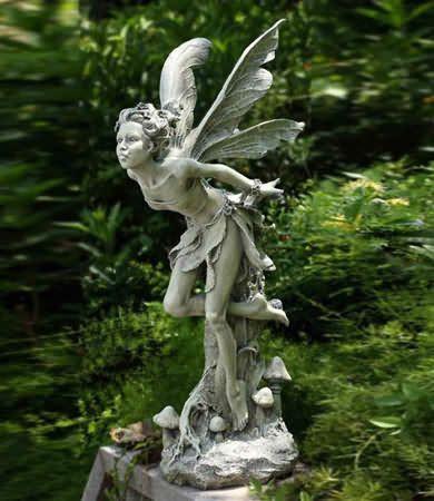 Woodland Fairy Sculpture, Garden Fairy Sculpture, Resin Fairy Sculptures,  Wonderful Fairy Statues,
