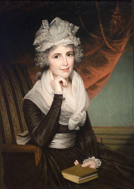 Mrs. John Rogers (Elizabeth Rodman Rogers), ca. 1795 | Flickr - Photo Sharing!