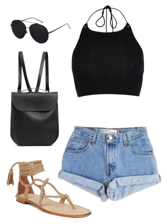 """Untitled #88"" by classy-gal on Polyvore featuring Levi's, River Island and GRETCHEN"