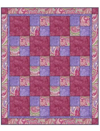 Quilt Patterns With 3 Fabrics : Sew Quick 3 Yard Quilt 091124-B Quilt Ideas Pinterest Patterns, Chang e 3 and Yards