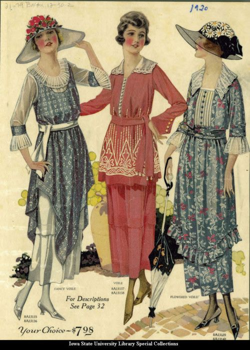 Day dresses, 1920, Philipsborn's