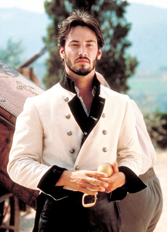 Keanu Reeves in 'Much Ado About Nothing' (1993). | Touch ...