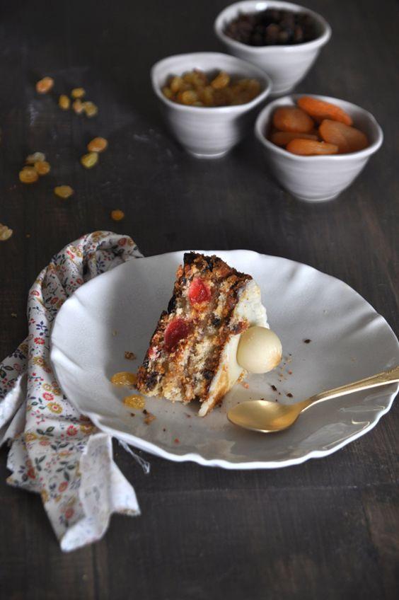 Receta de Simnel Cake (Tarta inglesa de Pascua) - Receta con fotos