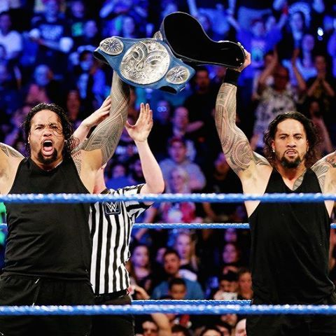 The Usos, your new SD Live tag team champions
