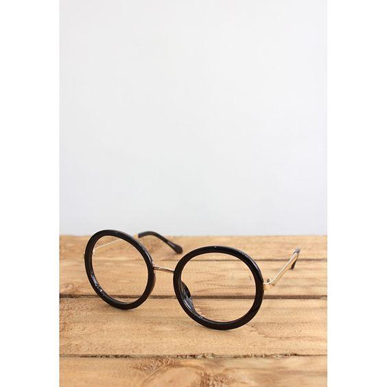 Fashion Circle Eyeglasses Frame (No Lens)