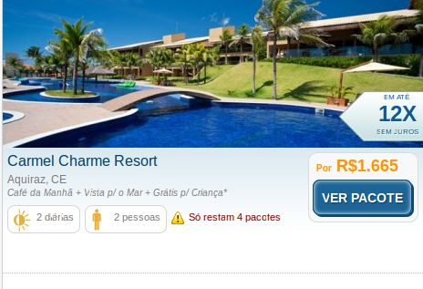 """Carmel Charme Resort was voted """"New Year"""" by Guia Quatro Rodas 2012, the property is surrounded by dunes and coconut farms and provides the traveller with a magnificent view."""
