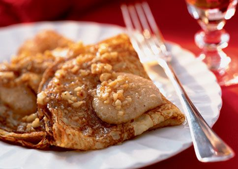 Warm Crepes with Hazelnut Brown Butter | Holy yes please!