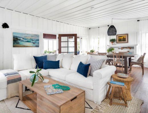 Bohemian Coastal Beach Cottage Decor Style Beach House Interior
