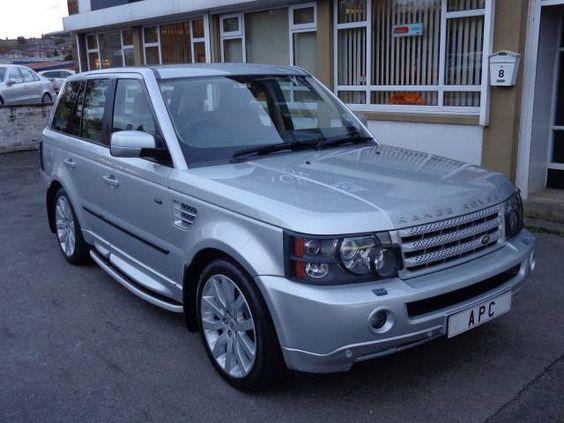 2005 Range Rover Sport 2.7 TDV6 HSE auto estate. Silver. FSH. Click on pic shown for loads more.