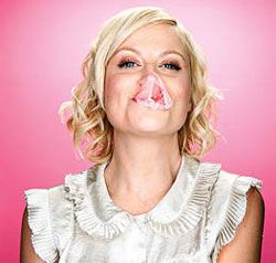 """I get worried for young girls sometimes; I want them to feel that they can be sassy and full and weird and geeky and smart and independent, and not so withered and shriveled."" —Amy Poehler in an interview for Bust Magazine."