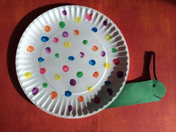 Fingerprint Snail Craft for Kids    The Chirping Moms