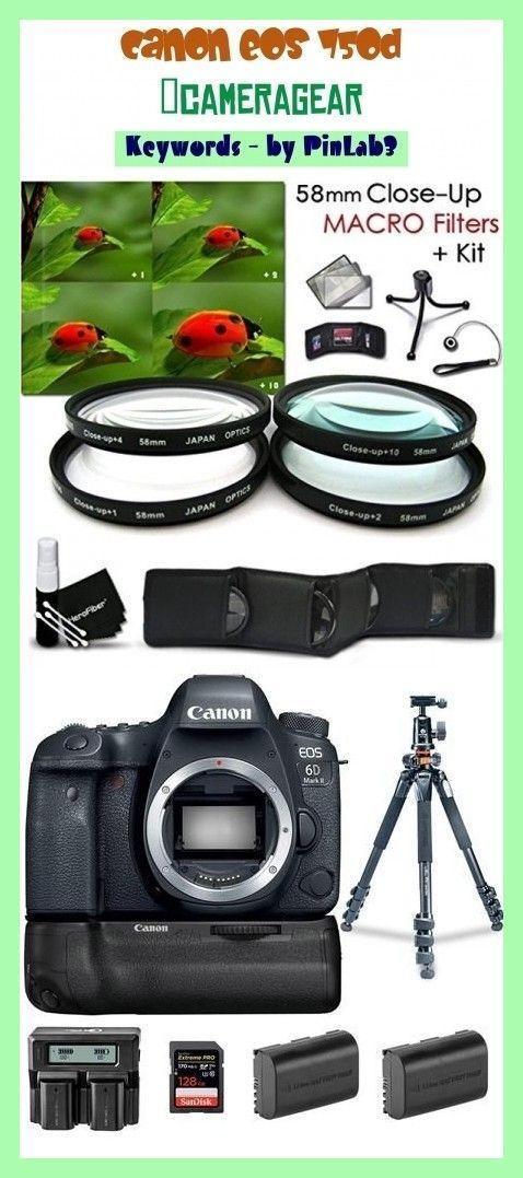 Canon Eos 750d Camera Gear Camera Canon Cameragear Canon Eos Cameras Camera Gear Camera Gear Photography Equipment