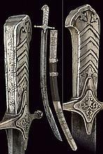 A rare sabre with silver mounts
