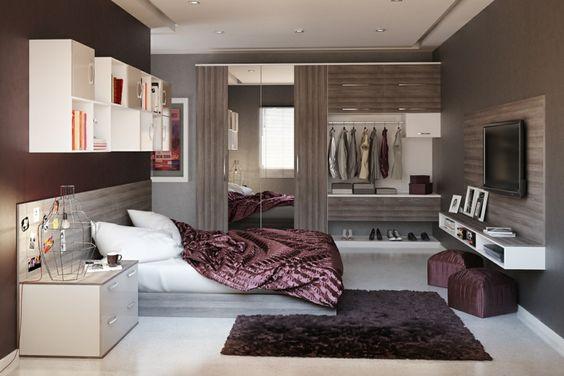 Ideen für das Schlafzimmer 30 Beispiele für jede Raumgröße - schlafzimmer design 18 ideen bilder