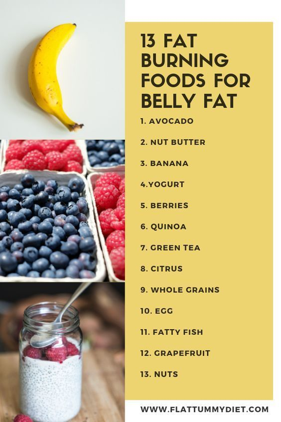 best foods to eat to trim belly fat