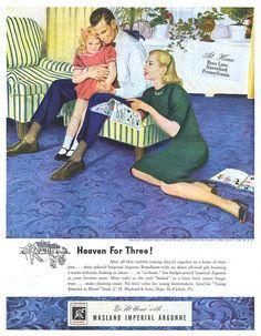 1947 Carpet ad