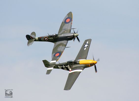spitfire mustang p51 goodwood 2015