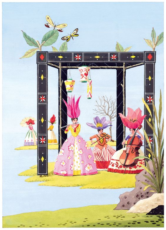 Harrison Howard, Flower and Shell People: The Musicians: