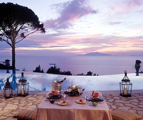 I stayed at this hotel in Capri during my honeymoon.  Wishing I was there RIGHT NOW!