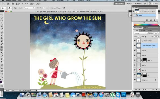 Homework - book cover design