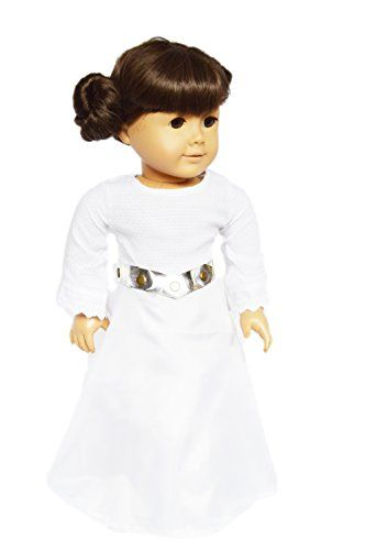 My Brittany's Princess Leia Inspired Gown for American Gi... https://www.amazon.com/dp/B06WVCPGFP/ref=cm_sw_r_pi_dp_x_9ppVybDR8BVR7