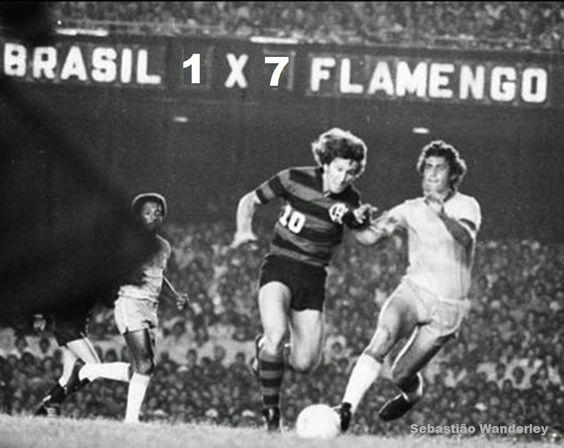 Pensamentos Soltos: Flamengo 7 x 1 Brasil
