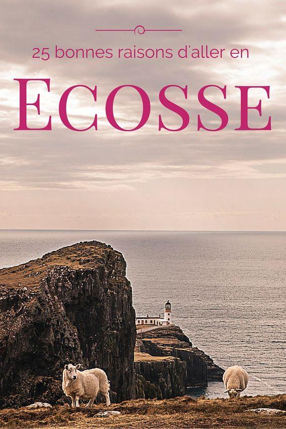 L'Ecosse est une destination qui vous trotte dans la tête ? Oui, alors voilà mes 25 bonnes raisons d'aller en Ecosse #voyage #ecosse