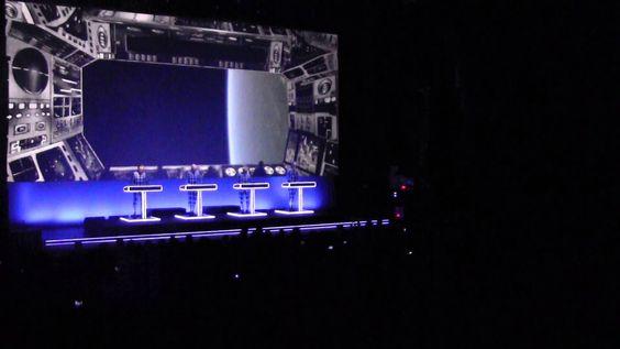 Kraftwerk En México DF Live at Plaza Condesa Full Show 15 Marzo de 2014
