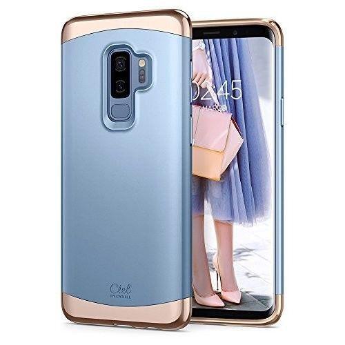 Samsung Galaxy S9 Plus Case Protection And Two Tone Detachable Pc Powder Powder Spigen Samsung Samsung Galaxy Samsung Galaxy Case