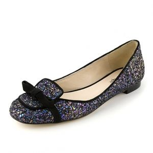 MASCOTTE NOIR #shoes #chaussures #mocassins #paillettes