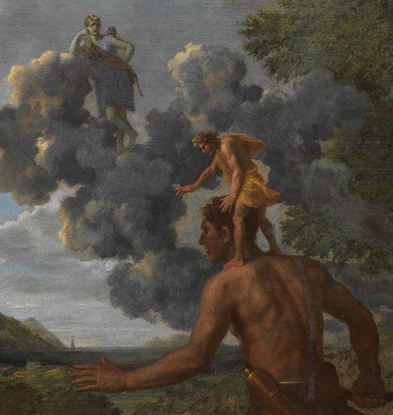 Nicolas Poussin - Paysage avec Orion aveugle cherchant le soleil