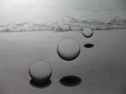 Estudio De Volumen 3d Como Convertir Una Circunferencia En Una Esfera Esferas Circunferencia Dibujos