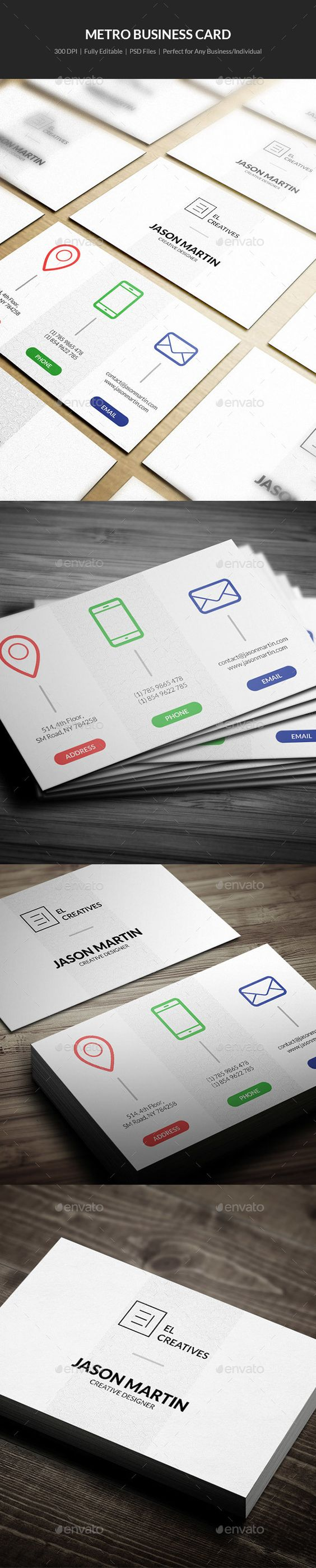 Business Card Perfect For Any Industry Features2 03 5 2 25 X 3 75 With Bleed 3 Business Card Template Design Business Card Template Psd Business Card Design