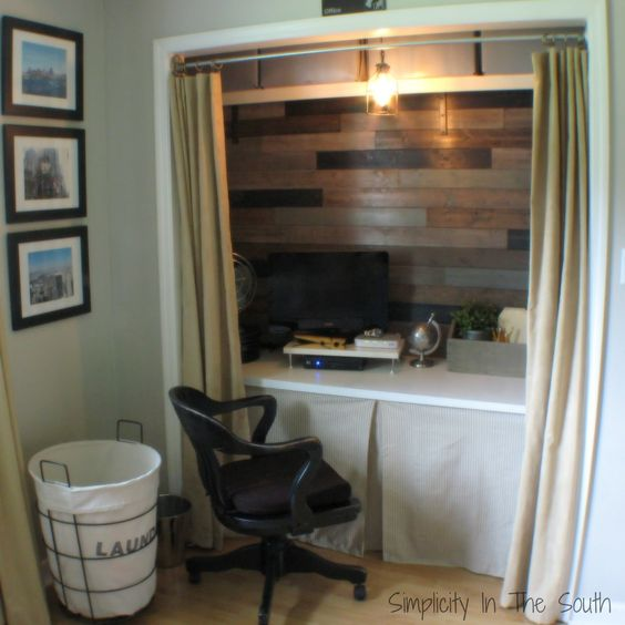In my last post, I showed you thereveal of my oldest son's bedroom. Today, I'll give you a quick tutorial on how I put up the planked wall treatment. To give you a better idea of how the planked walls look in person, here are some clearer pictures from the post on how I organized his office-closet.   I had originally planned on using pallets after finding the pallet wall treatment that East CoastContinue reading
