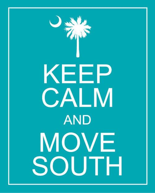 south!