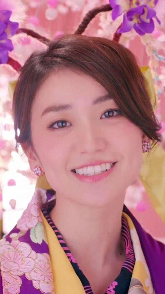 和服姿の大島優子