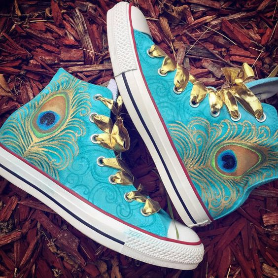 Hey, I found this really awesome Etsy listing at https://www.etsy.com/listing/244545856/peacock-converse-custom-airbrushed