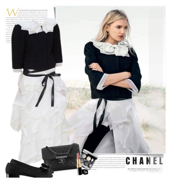"""""""Chanel FW 2015/16"""" by sella103 ❤ liked on Polyvore featuring mode en Chanel"""