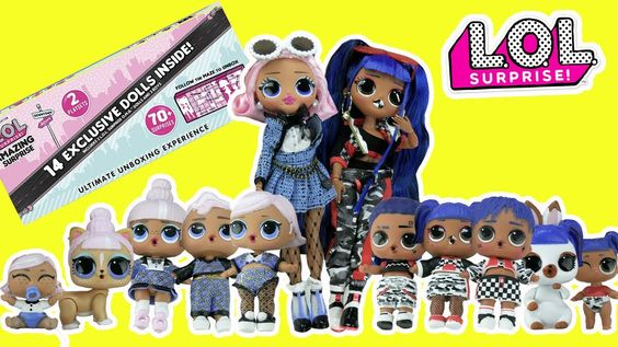 Lol Surprise Amazing Surprise Unboxing 14 Exclusive Omg Dolls Pets Lils Boys Toy Cabood Best Kids Toys Lol Dolls Toys For Boys