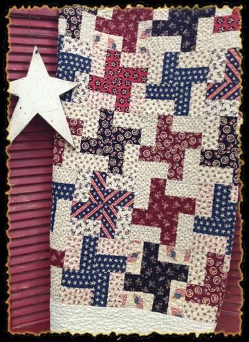 I have some quilt blocks in this pattern that I pieced about 25 years ago. Maybe it's time to sew them together and make a quilt!: