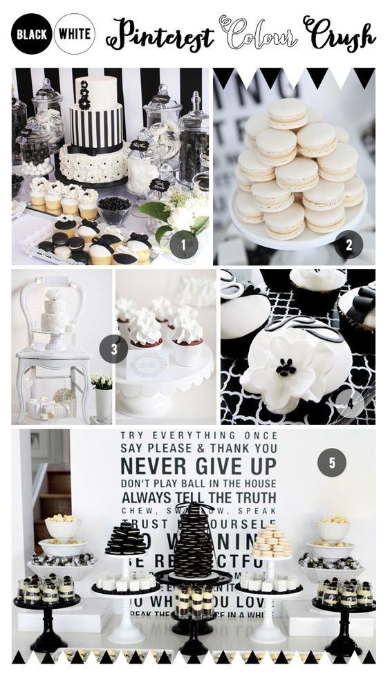 Black And White Party Ideas Party Event Partyideas