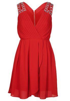 Robes de soirée TFNC DEBORAH - Robe de soirée - rouge rouge