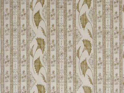 Boho Stripe in Antique Beige- By the Yard