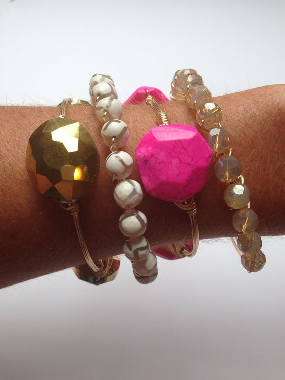 Love this bracelet stack