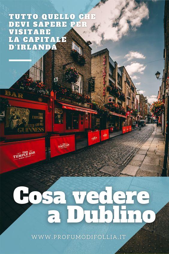 Cosa vedere a Dublino: immagine Pinterest