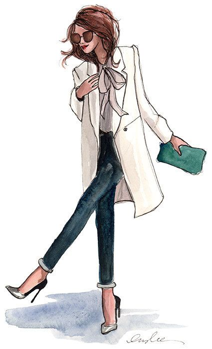Fashion Illustration by Inslee Haynes