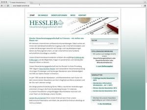 hessler-website-screenshot