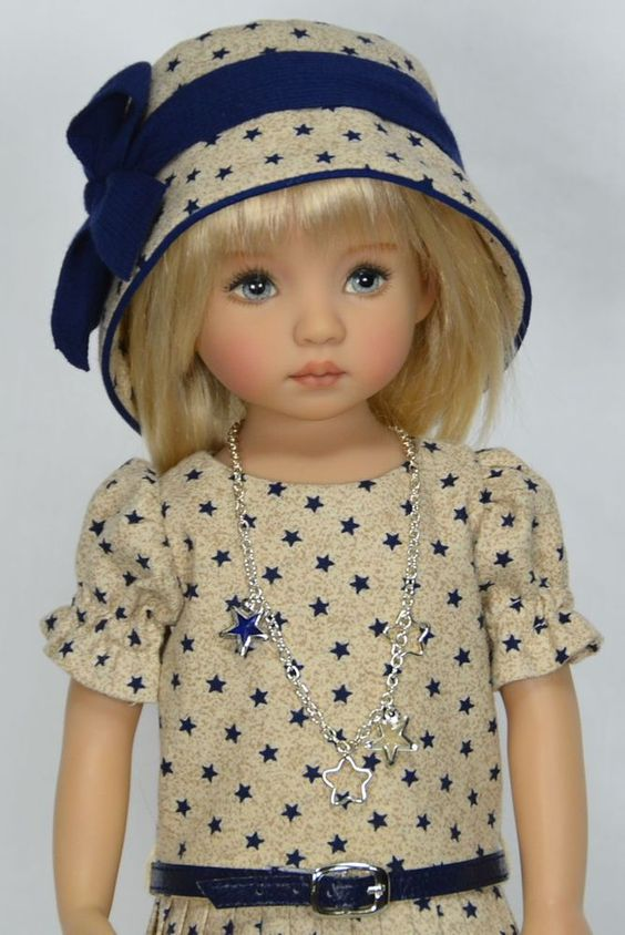 "**MY STARS** For Dianna Effner 13"" Little Darling Studio Dolls by Melanie:"