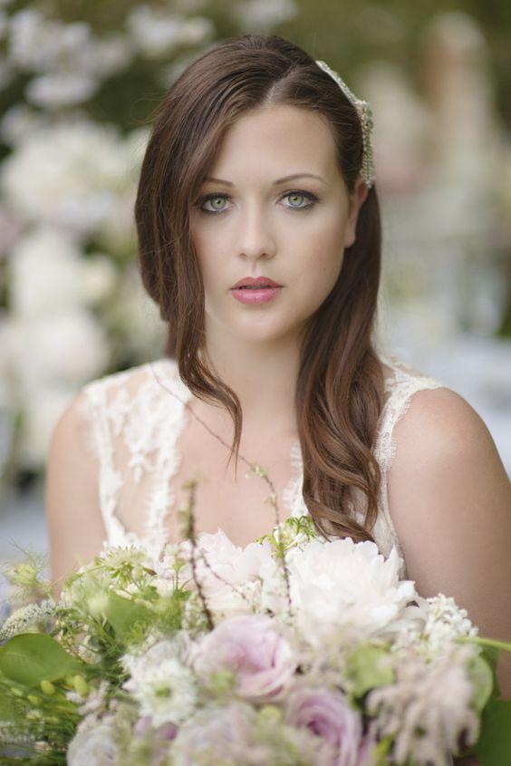 Make Up Bride Beauty Natural Pretty Quintessential English Elegant Soft Blush Blossom Wedding Ideas http://careysheffield.com/