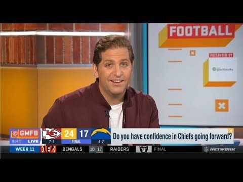 Brandt Schrager Get Into Heated Debate Over Raiders Chiefs Good Morning Football Today Football Today Raiders Chiefs Raiders